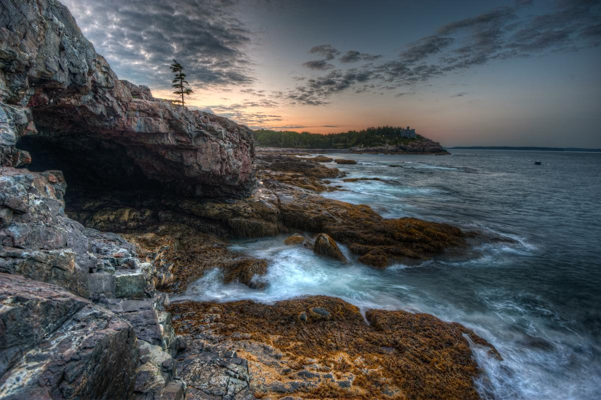 Acadia national park information facts tiverton for Free land maine